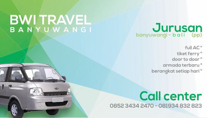 BWi Travel Banyuwangi Bali Denpasar