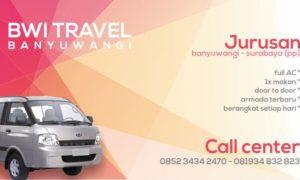 BWi Travel Banyuwangi Surabaya