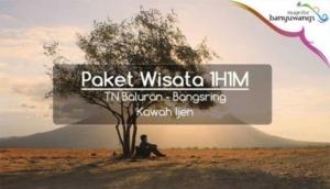 Paket Wisata Banyuwangi 1H1M Baluran Bangsring Ijen