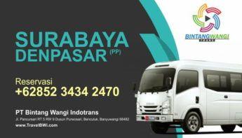 Travel Surabaya Denpasar Bali